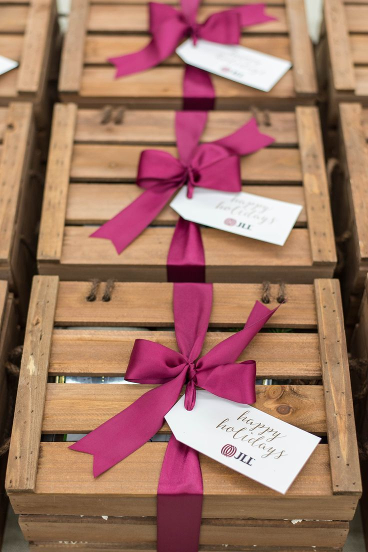 Custom Corporate Gift Crates for DC Real Estate Firm