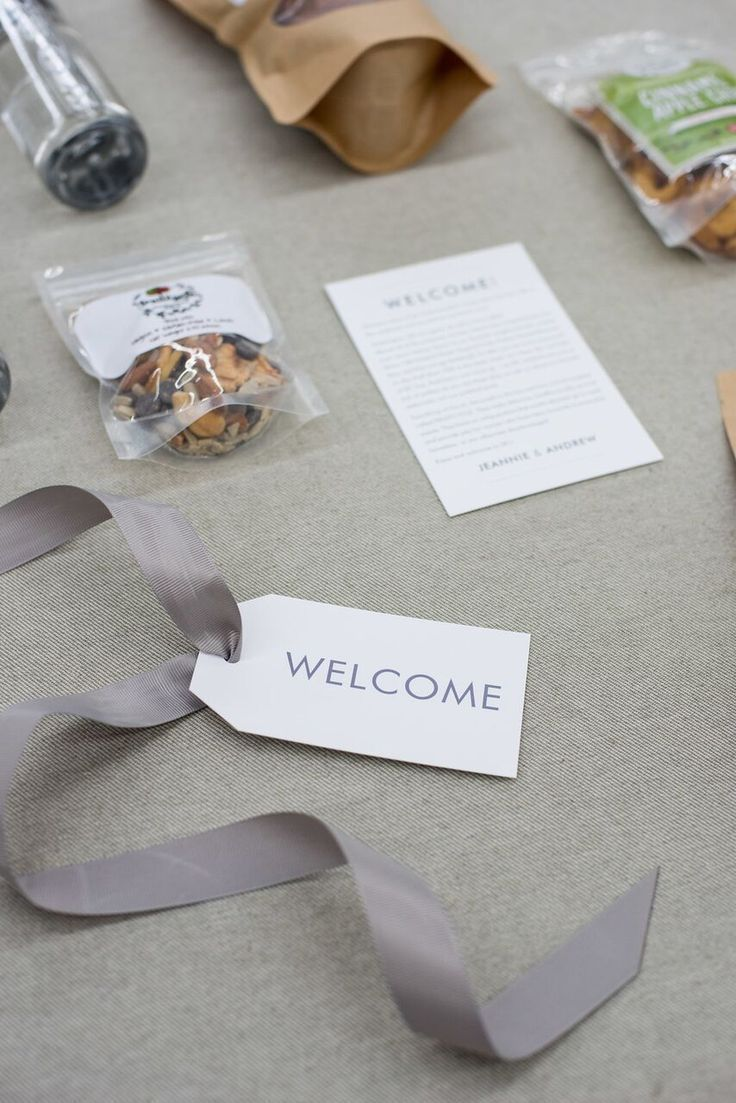 CUSTOM WEDDING WELCOME GIFTS Marigold & Grey creates artisan gifts for all occas...