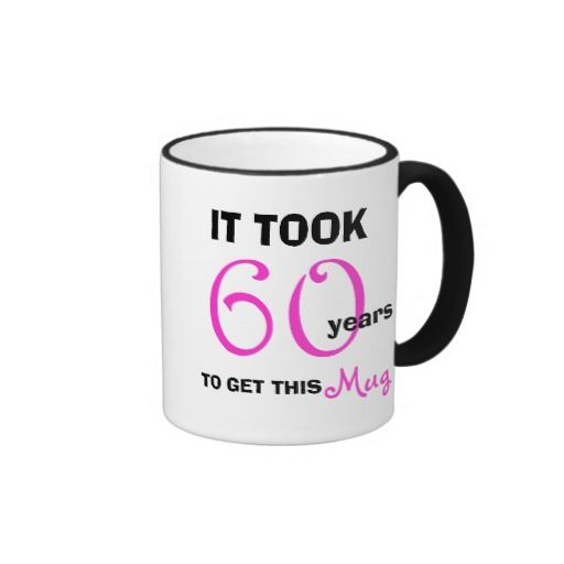Birthday Gifts Ideas 60th Gift For Her Mug