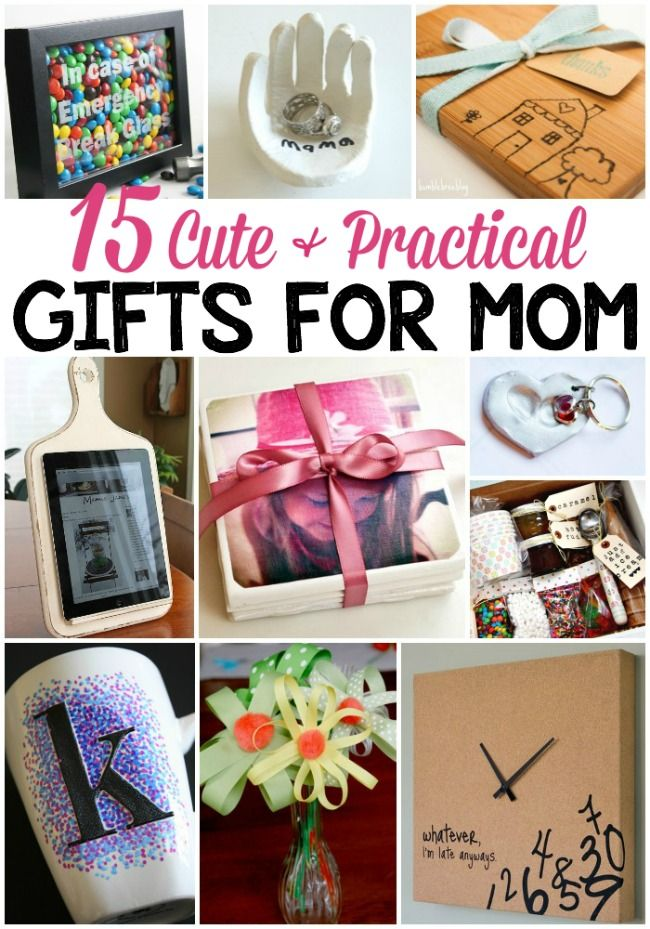 Mom Birthday Gifts : 15 DIY gift ideas that mom will actually use