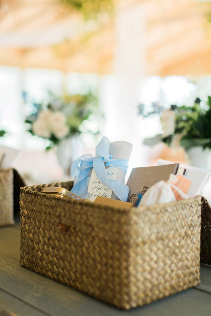Workshop Welcome Baskets by Marigold & Grey. Creating artisan gifts for all occa...