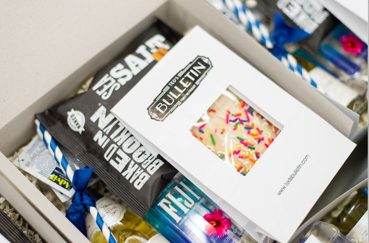 Add a little something sweet and bubbly to your artisan gift box from Marigold &...