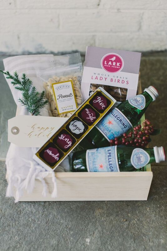 CORPORATE HOLIDAY GIFT BOX Marigold & Grey creates artisan gifts for all occasio...