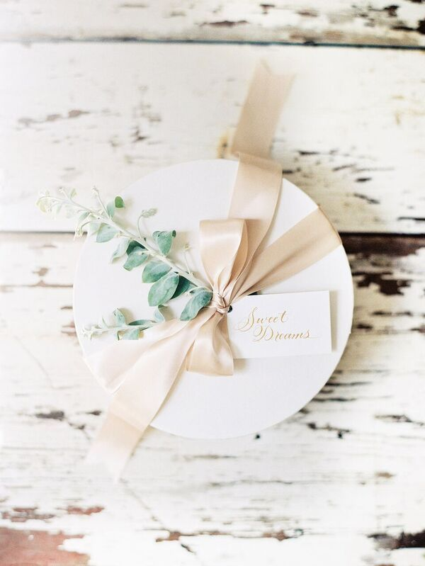 Custom Welcome Gifts for Trouvaille 2016 by Marigold & Grey inquire about custom...