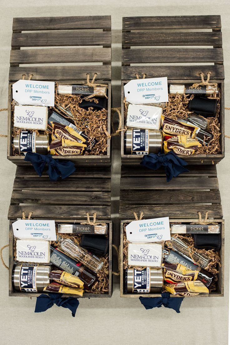 Masculine Corporate Curated Gift Crates. Corporate swag should be well-curated, ...