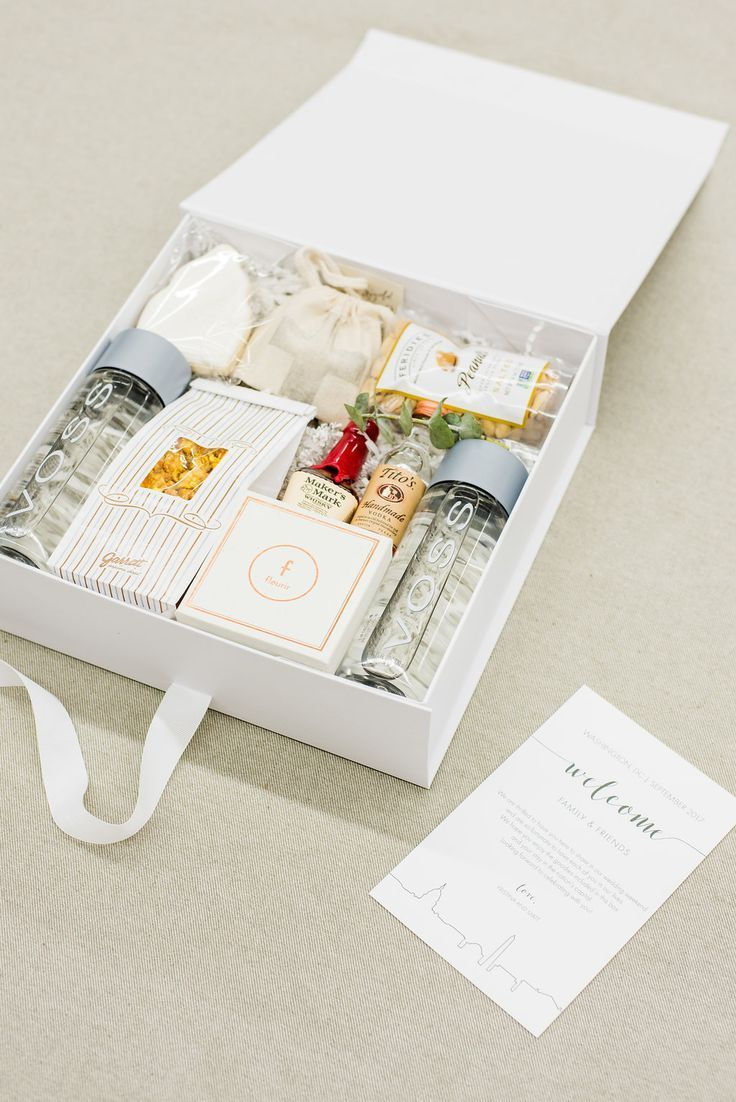 Best Corporate Gifts Ideas : MODERN DC WEDDING WELCOME GIFTS ...