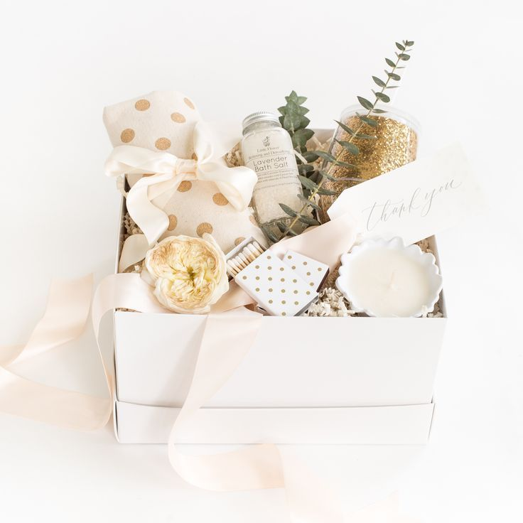 Spring-Inspired Thank You Gift Box by Marigold & Grey. Creating artisan gifts fo...