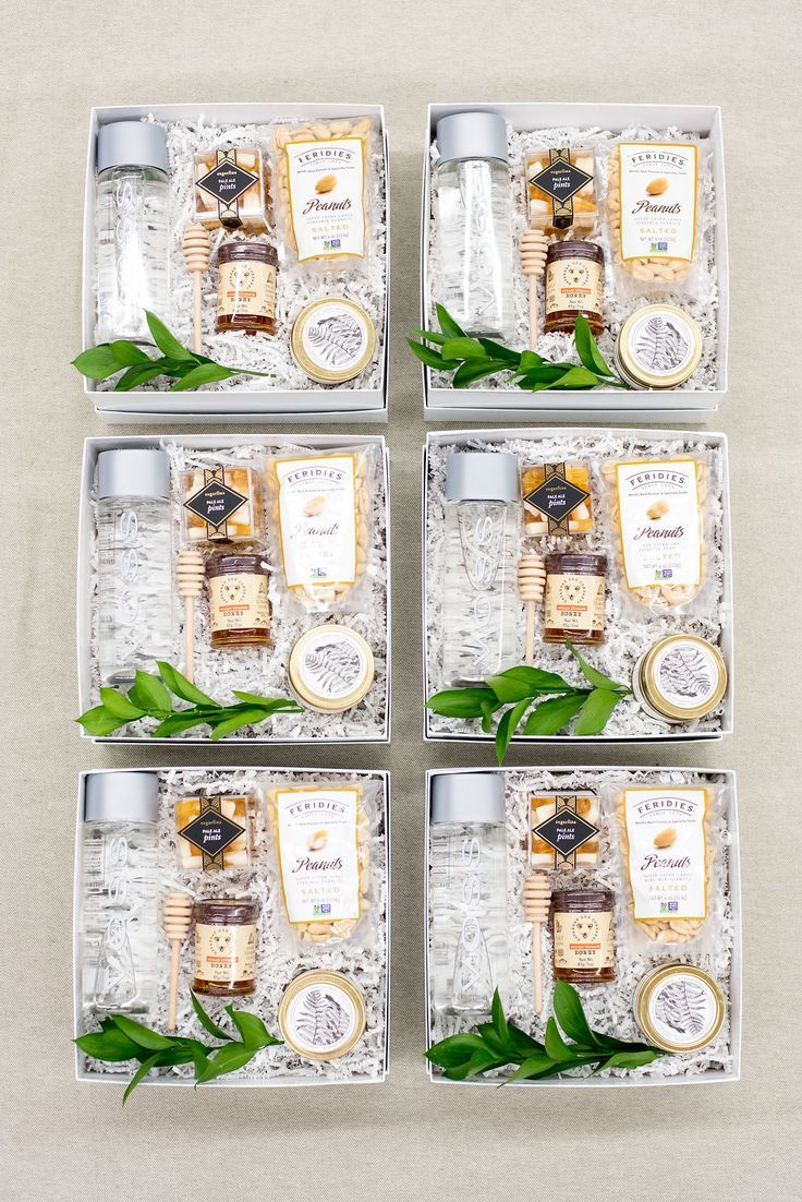 WEDDING WELCOME BOXES Marigold & Grey creates artisan gifts for all occasions. W...
