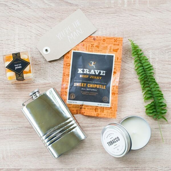 You're the Man Gift Boxes. Marigold & Grey creates artisan gifts for all occ...