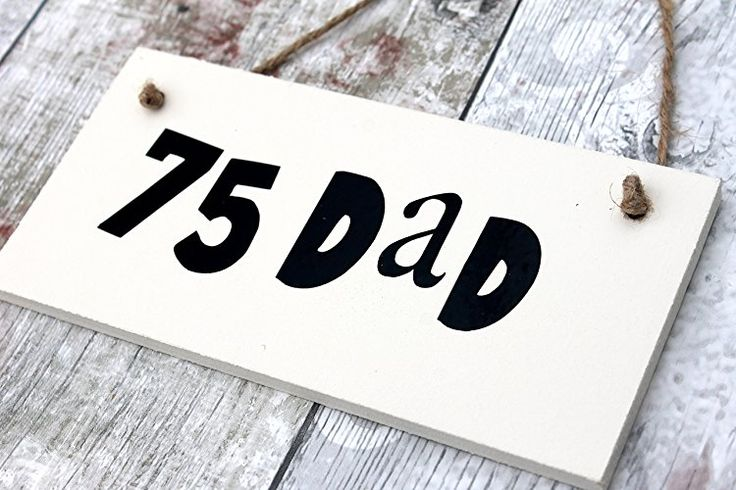Birthday Gifts MadeAt94 75th Gift For Dad Plaque Men 90th
