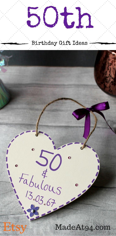 Birthday Gifts Beautiful 50th Birthday Ideas For Mum Handmade By
