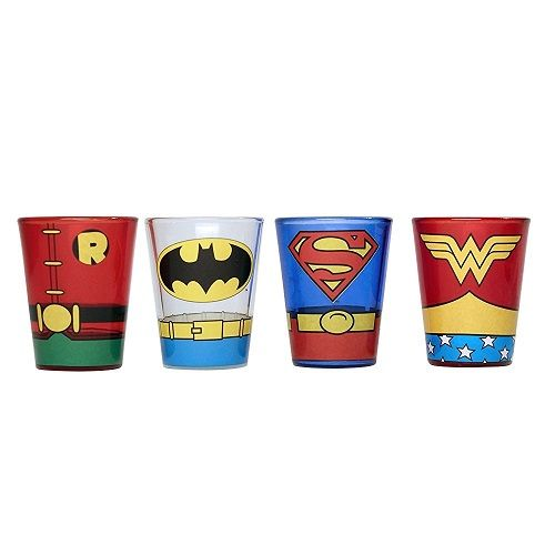 Birthday Gifts For Teenagers Amazing Superhero Shot Glass Set To Make The Fans Thrilled This Holida