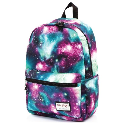 Love stars and galaxy print? This is the coolest backpack to carry. Galaxy print...