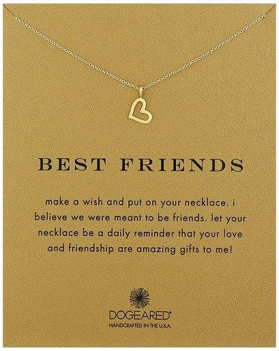 Birthday Gifts For Teenagers Best Friends Gold Heart Necklace
