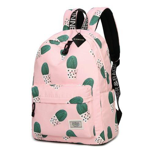 Cactus School Bag. Cute school supplies high school. Christmas gifts for teens