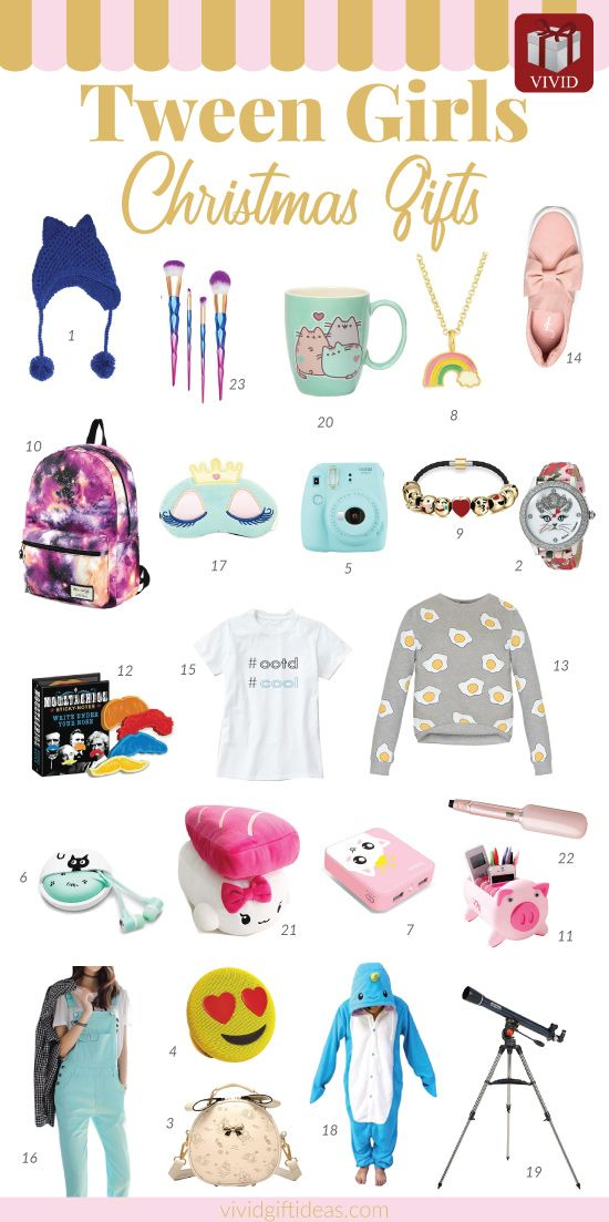 Christmas Gifts For Tweens. Suitable for daughter, granddaughter, sister, friend...