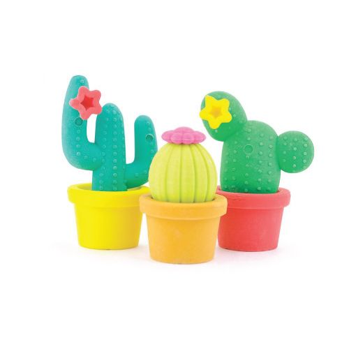 Colorful Cactus Erasers. School supplies for girls. Christmas Gifts For Friends ...