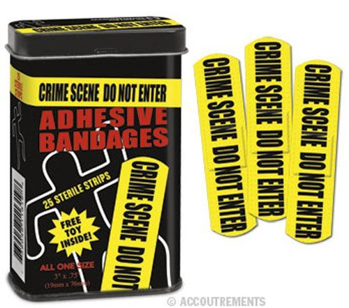 Crime Scene Bandages. Holiday gift guide for teens. Christmas Gift Ideas For Tee...