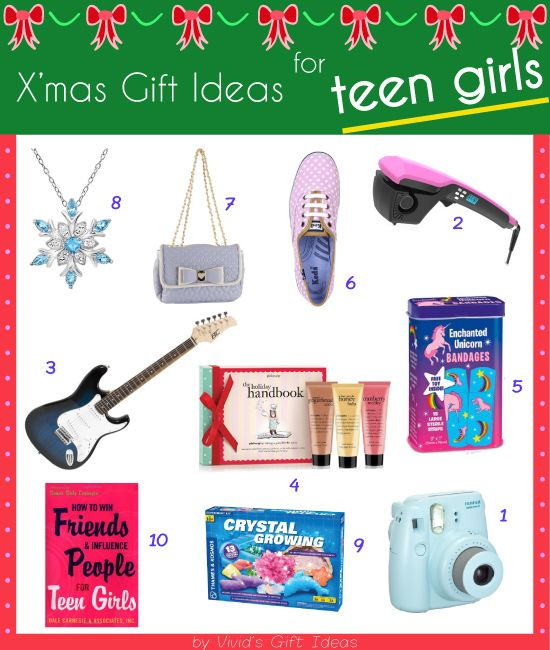 Birthday Gifts for Teenagers : Cute and cool gifts for teen girls ...