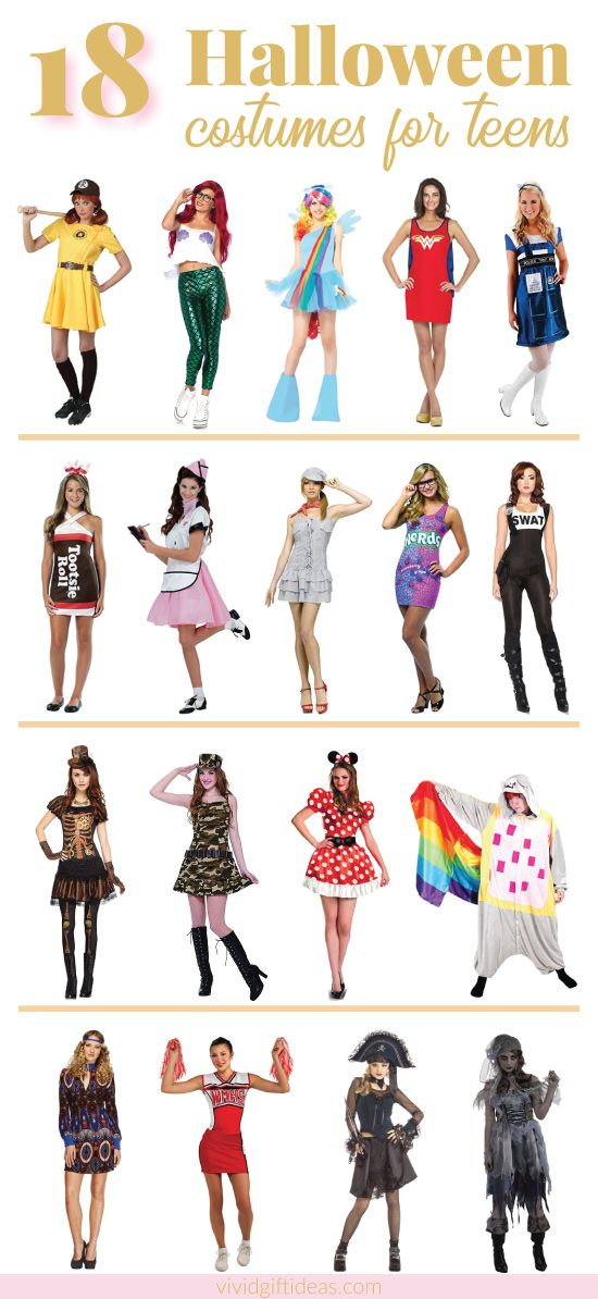 Birthday Gifts for Teenagers : Cute Halloween Costume Ideas For