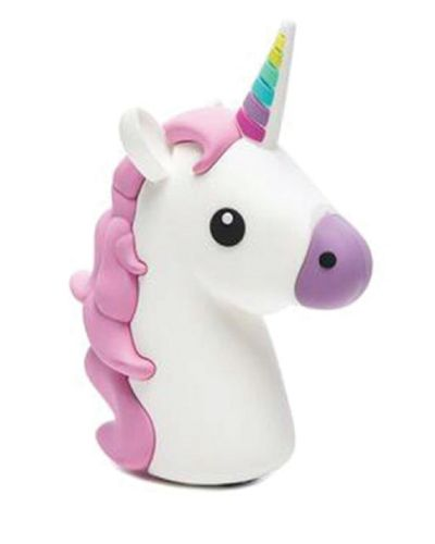 Cute Unicorn Power Bank. A life saver for busy middle schoolers. holiday gift gu...