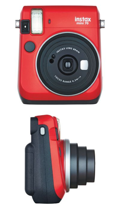 definitely what I want for Christmas! A red Fujifilm Instax Mini 70 Instant Came...