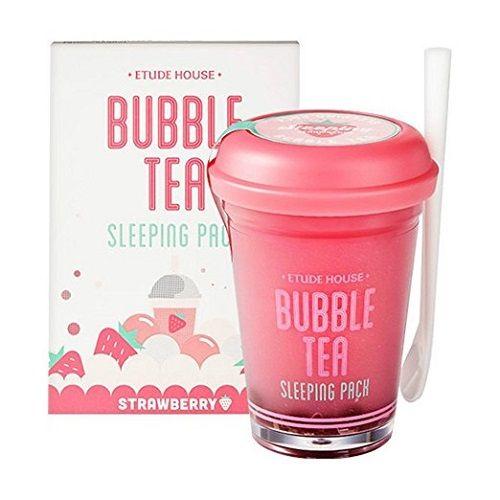 Etude House Bubble Tea Sleeping Mask. Stocking stuffer ideas for teens. #Christm...