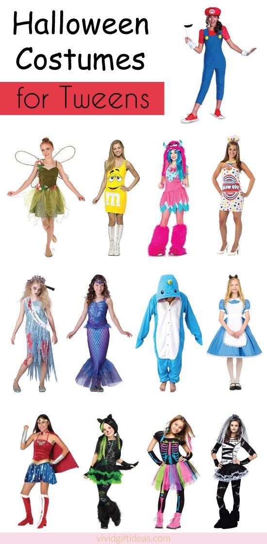 Halloween Costumes Ideas For Tweens. Girls costumes 2017.