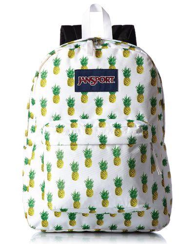 095bd5c92 Birthday Gifts for Teenagers. JanSport Superbreak Multi Tropic Gold Backpack.  Pineapple ...