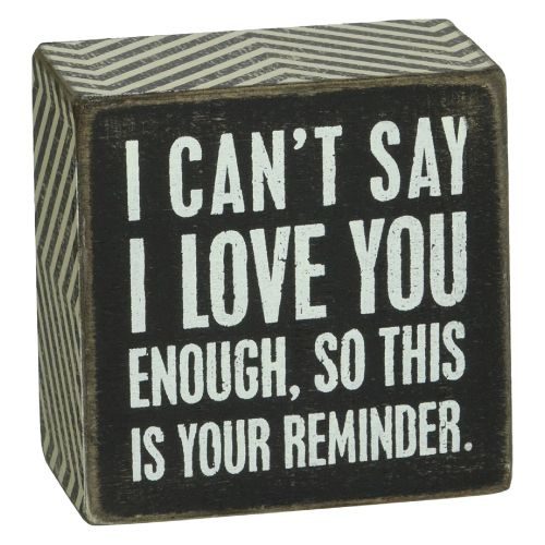 Birthday Gifts For Teenagers Love Quote Wood Sign To Express Your
