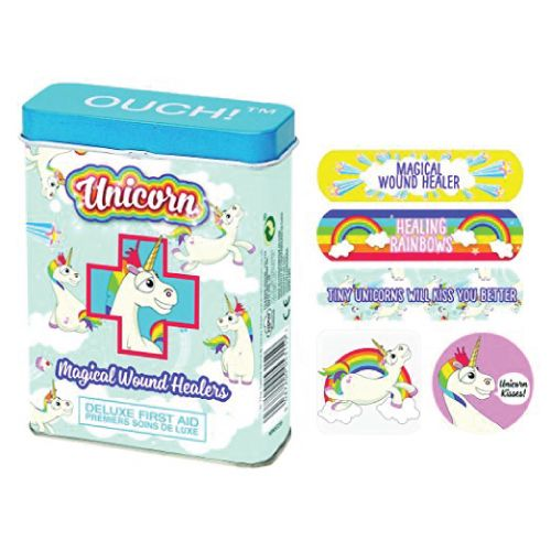 Magical Wound Healers Unicorn Ouch Bandages. Unicorn school supplies. Christmas ...