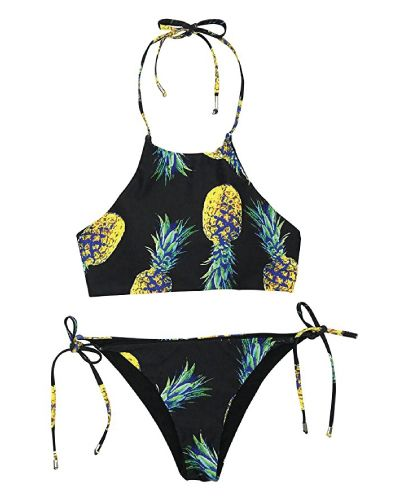 Birthday gifts for teenagers pineapple halter bikini easter birthday gifts for teenagers negle Gallery