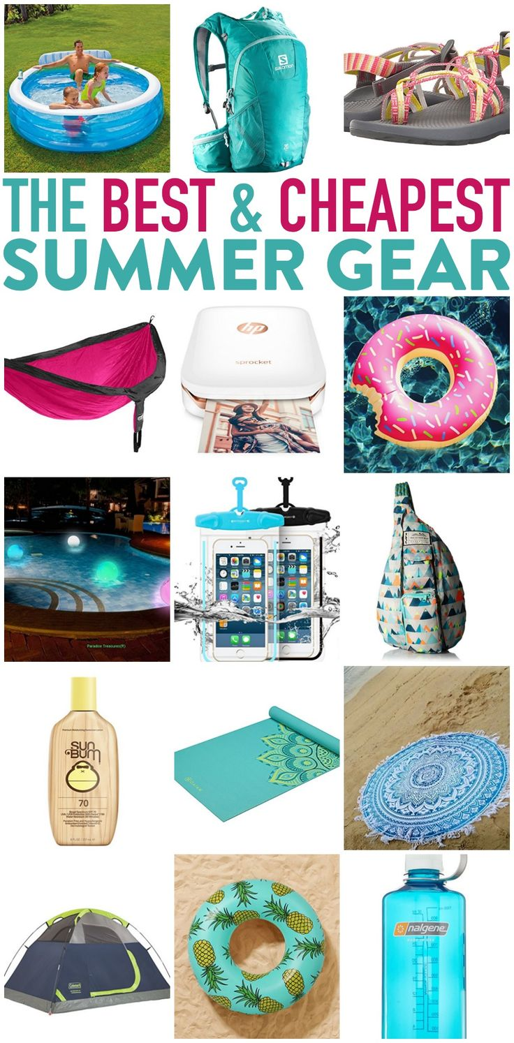Score The Best and Cheapest Summer Gear