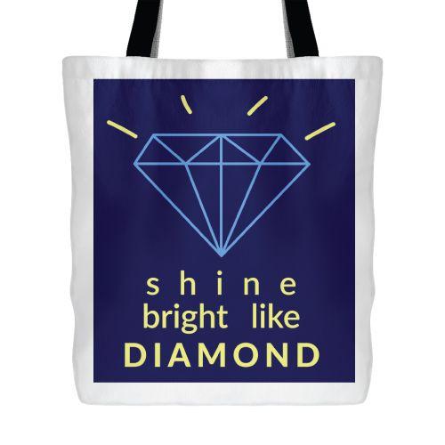 Shine Bright Like Diamond Bag. School supplies for girls. Gifts For Tween Girls ...