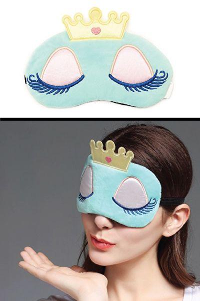 Sleeping Beauty Eye Mask. Tween gifts. Stocking stuffer ideas for girls. Christm...