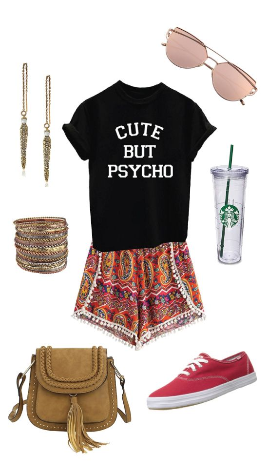 Birthday Gifts for Teenagers  Summer outfits for teen girls. Bohemian hipster style. Perfect ...