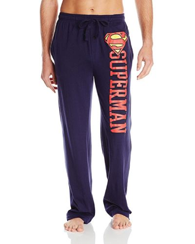 Superman Lounge Pant. gift ideas for him. Christmas gifts for teen boys.