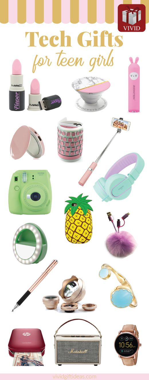 Tech Gifts For Teens. Awesome electronics gadgets ideas.