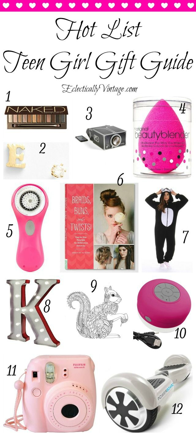 Birthday Gifts for Teenagers : Teenage Girl Gift Guide - give one of ...