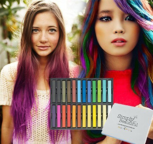 Temporary Hair Coloring Chalks (birthday gifts for tween girls)