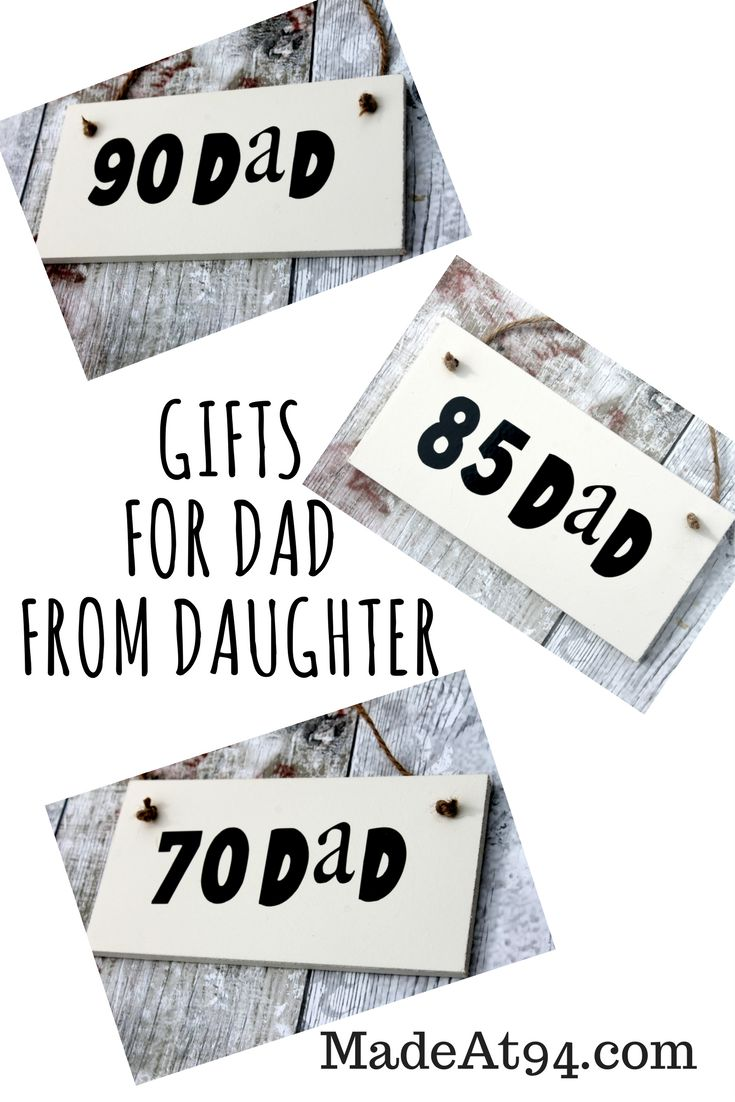 Birthday Gifts : Gifts For Dad from Daughter. Lovely. Dad ...