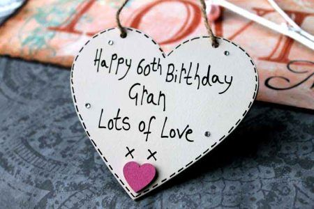 Birthday Gifts Happy 60th Gran Lots Of Love