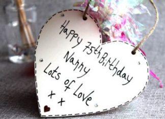 Birthday Gifts Happy 75th Nanny Love Ideas For Men