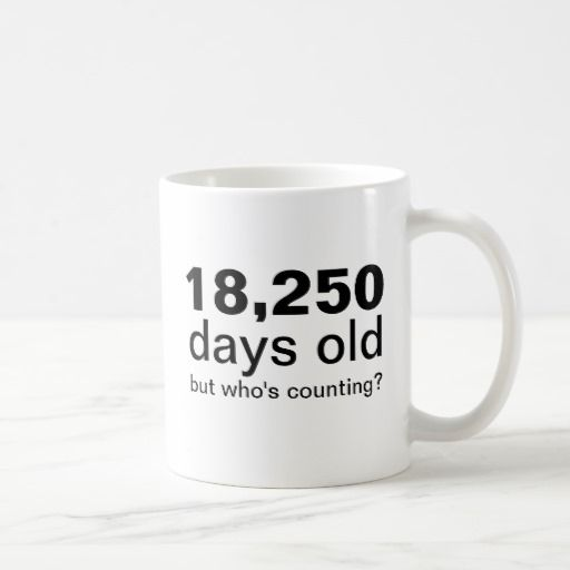 Birthday Gifts Ideas 50 Years Old 18250 Days Funny Custom