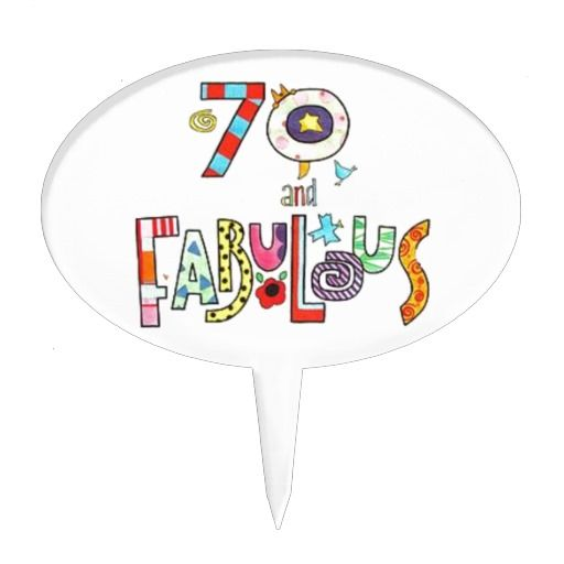 Birthday Gifts Ideas 70 Years Old And Fabulous 70th Cake