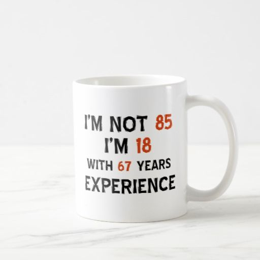 Birthday Gifts Ideas 85th Designs Coffee Mug