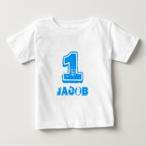 Birthday Gifts Babys 1st T Shirt For One Year