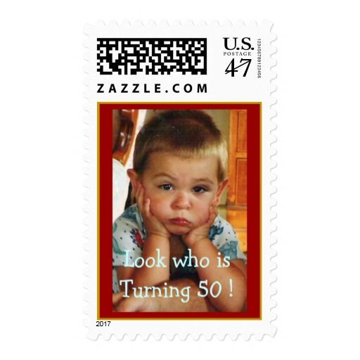Birthday Gifts Ideas Party 50th Customize It Postage