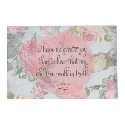 Children Walk in Truth Placemat