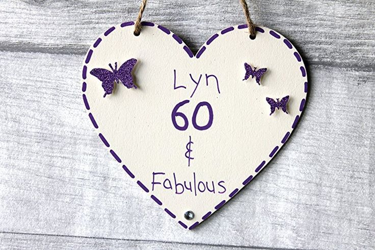 Birthday Gifts MadeAt94 Customized 60th Gift Heart Mom